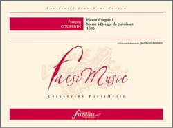 François Couperin - Organ Pieces 1: Mass For The Use Of Parishes. Exhausted - Sheet Music - di-arezzo.co.uk