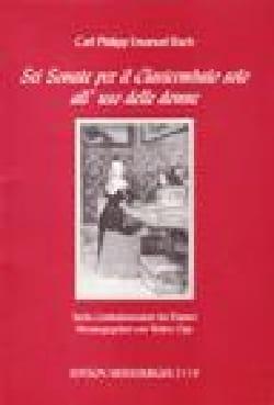 Carl-Philipp Emanuel Bach - 6 Sonate per il clavicembalo solo all'uso delle donne - Partition - di-arezzo.fr
