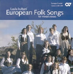 - European Folk Songs Mixed voices. CD - Sheet Music - di-arezzo.com