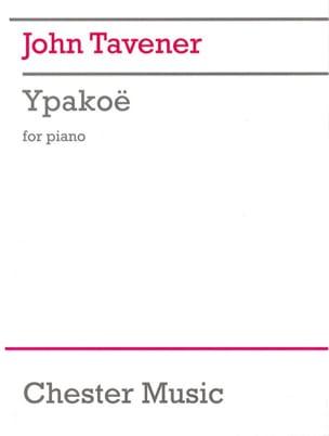 John Tavener - Ypakoë - Partition - di-arezzo.fr