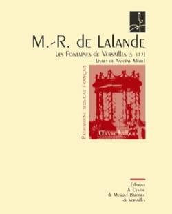 Michel-Richard de Lalande - The Fountains of Versailles S 133 - Sheet Music - di-arezzo.com