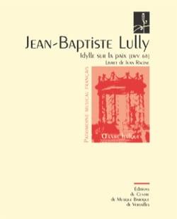 Idylle sur la Paix Lwv 68 LULLY Partition Opéras - laflutedepan