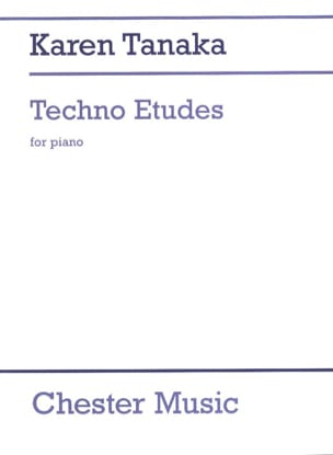 Karen Tanaka - 3 Techno Studies - Sheet Music - di-arezzo.co.uk