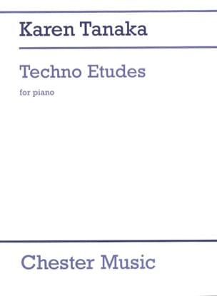 Karen Tanaka - 3 Techno Etudes - Partition - di-arezzo.fr