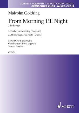 Malcolm Goldring - From Morning Till Night - Partition - di-arezzo.fr