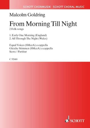 From Morning Till Night Malcolm Goldring Partition laflutedepan