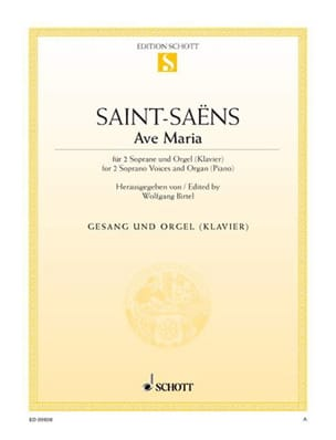 Camille Saint-Saëns - Ave Maria - Partitura - di-arezzo.es