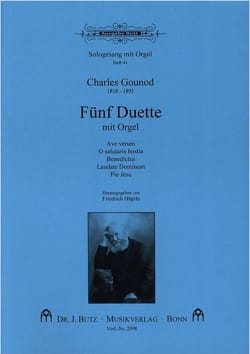 Charles Gounod - 5 Duette Mit Orgel - Sheet Music - di-arezzo.co.uk