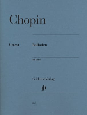 CHOPIN - ballads - Sheet Music - di-arezzo.co.uk