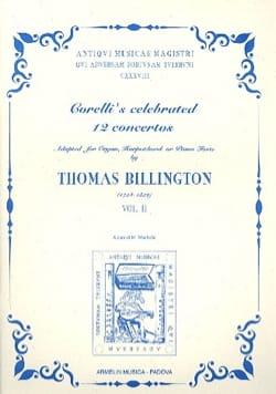 Arcangelo Corelli - 12 Concertos Volume 2 - Partition - di-arezzo.fr
