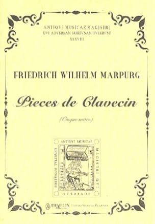 Friedrich Wilhelm Marpurg - Pièces de Clavecin. 5 Suites - Partition - di-arezzo.fr