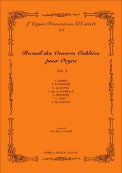 - Collection of forgotten works for organ. Volume 2 - Sheet Music - di-arezzo.com