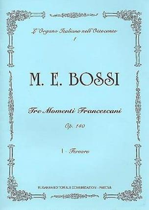 Fervore Op. 140-1 - Marco Enrico Bossi - Partition - laflutedepan.com