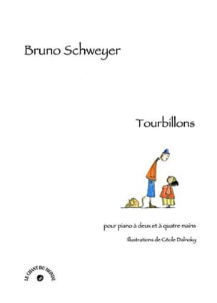 Bruno Schweyer - Tourbillons - Partition - di-arezzo.fr