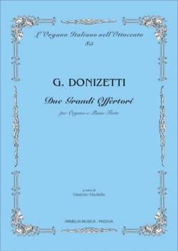 2 Grandi Offertori - Gaetano Donizetti - Partition - laflutedepan.com