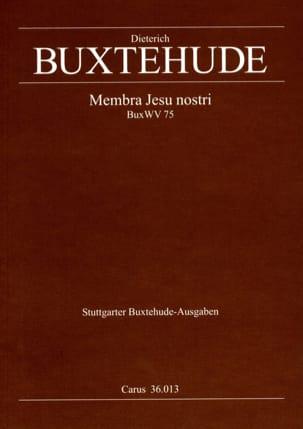 Dietrich Buxtehude - Membra Jesu Nostri Buxwv 75 - Sheet Music - di-arezzo.co.uk