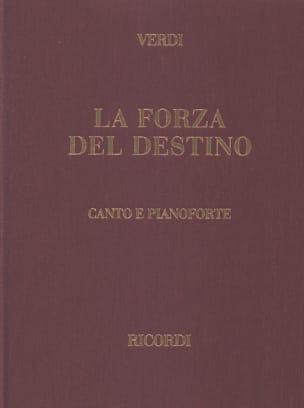 VERDI - The Forza Del Destino. joined - Sheet Music - di-arezzo.com