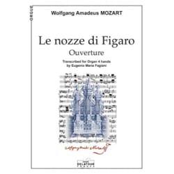 MOZART - Ouverture de le Nozze Di Figaro - Partition - di-arezzo.fr