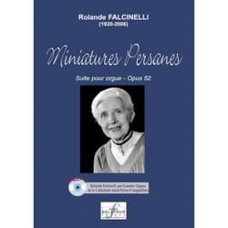 Rolande Falcinelli - Miniatures Persanes Op. 52 - Partition - di-arezzo.fr