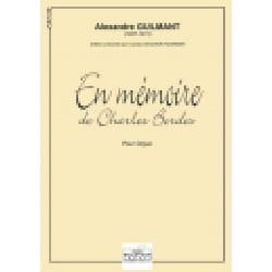 En Mémoire de Charles Bordes - Alexandre Guilmant - laflutedepan.com