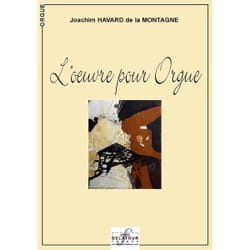 de la Montagne Joachim Havard - L'oeuvre Pour Orgue - Partition - di-arezzo.fr