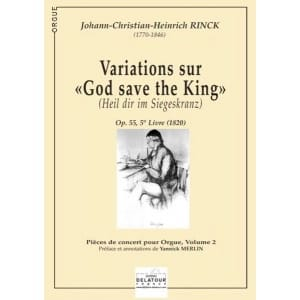 Variations sur God Save The King laflutedepan