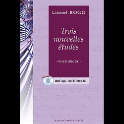 Lionel Rogg - 3 Nouvelles Etudes - Partition - di-arezzo.fr