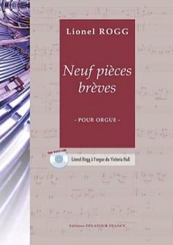 9 Pièces Brèves Lionel Rogg Partition Orgue - laflutedepan