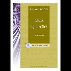 Lionel Rogg - 2 Aquarelles - Partition - di-arezzo.fr