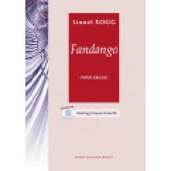 Fandango - Lionel Rogg - Partition - Orgue - laflutedepan.com