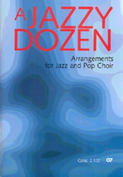 - A Jazzy Dozen - Partition - di-arezzo.fr