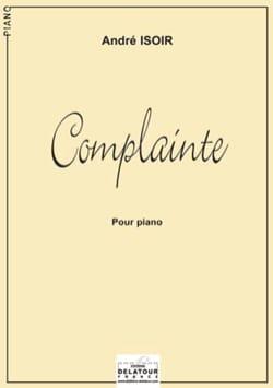 André Isoir - Complainte - Partition - di-arezzo.fr