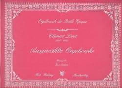 Clément Loret - Ausgewählte Orgelwerke - Partition - di-arezzo.fr