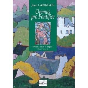 Jean Langlais - Oremus Pro Pontifice Op. 45-3 - Partition - di-arezzo.fr