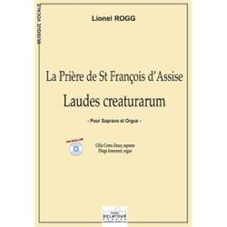 Lionel Rogg - Laudes Creaturarum - Partition - di-arezzo.fr
