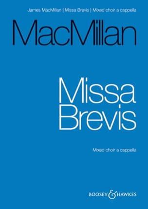 James Macmillan - Missa Brevis - Partition - di-arezzo.fr