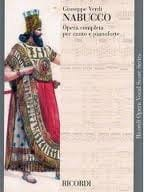 VERDI - Nabucco - Sheet Music - di-arezzo.co.uk