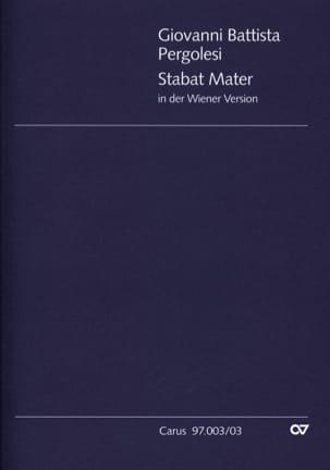 Stabat Mater Giovanni Battista Pergolese Partition laflutedepan