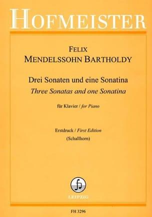 3 Sonaten Und 1 Sonatina - Félix MENDELSSOHN - laflutedepan.com