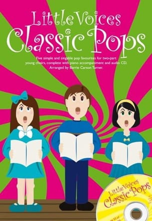 Little Voices Classic Pops Partition Chœur - laflutedepan