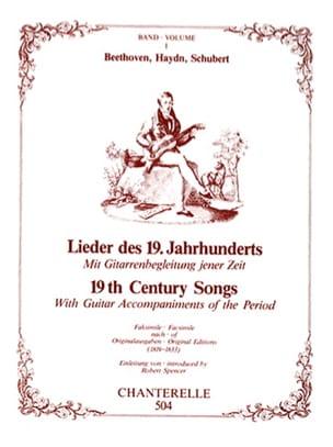 Beethoven Ludwig van / Haydn Joseph / Schubert Franz - Lieder des 19. Jahrhunderts vol 1 - Partition - di-arezzo.fr
