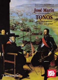 Tonos Para Voz Y Guitarra - José Marin - Partition - laflutedepan.com