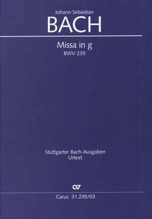 Jean-Sébastien Bach - BWV 235 Minor Mass - Sheet Music - di-arezzo.co.uk