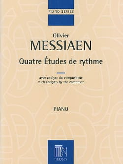Olivier Messiaen - 4 Rhythm Studies - Sheet Music - di-arezzo.co.uk