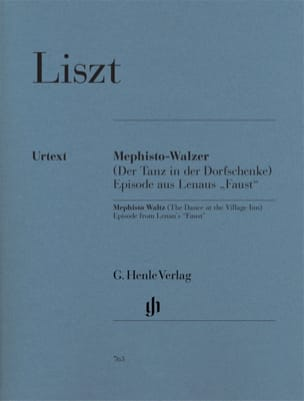 Franz Liszt - Mephisto-Waltz 1st - Sheet Music - di-arezzo.co.uk