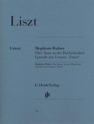 Franz Liszt - Mephisto-Valse (1ère) - Partition - di-arezzo.fr