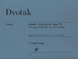 DVORAK - Dumky Opus 90. 4 Hands - Sheet Music - di-arezzo.co.uk