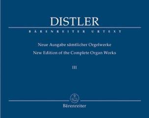 Neue Ausgabe Sämtlicher Orgelwerke Volume 3 Hugo Distler laflutedepan