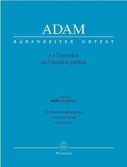 Adolphe Adam - The Toreador - Sheet Music - di-arezzo.co.uk