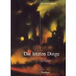 Die Letzten Dinge - Richard Dünser - Partition - laflutedepan.com